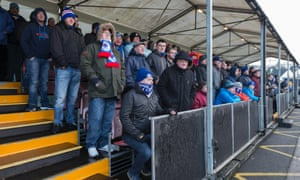 Fans at Alloa this month.