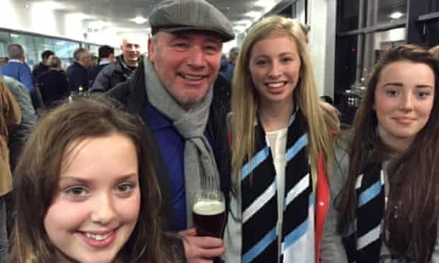 Ally McCoist out recently, having quit as Rangers' manager.