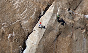 Tommy Caldwell ascends what is known as pitch 10
