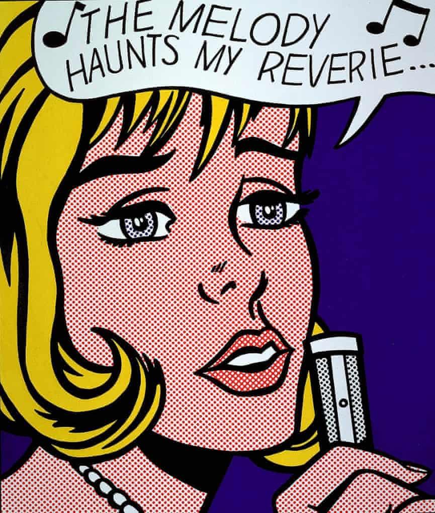 The Melody Haunts My Reverie by Roy Lichtenstein