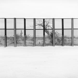 Border fence, Yuma County, Arizona