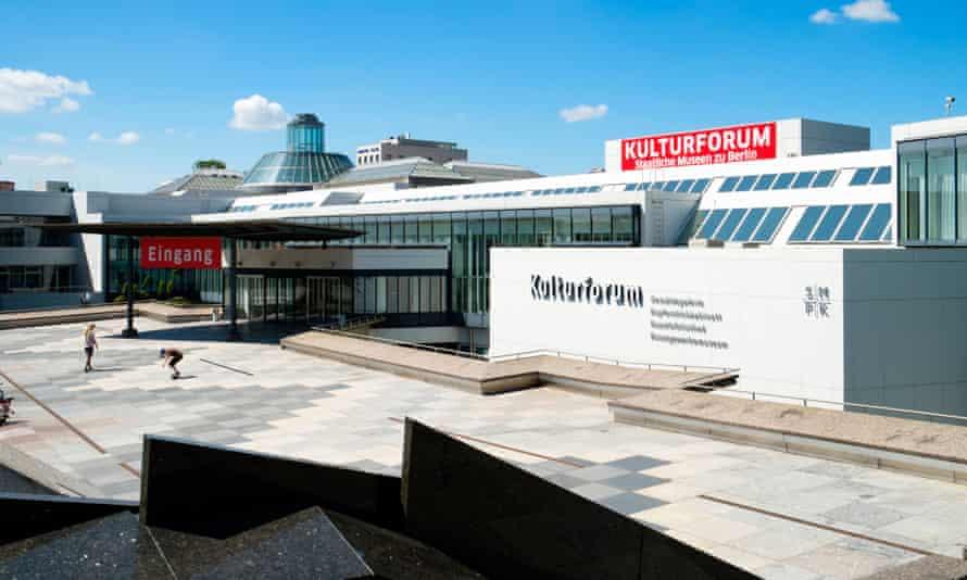 Gemaldegalerie art museum in Kulturforum museum complex in Berlin, Germany