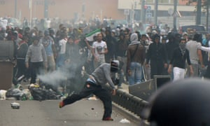 Sarcelle riot
