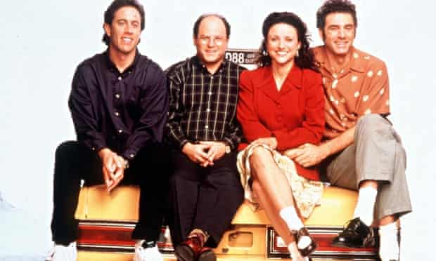 Trendsetters: Jerry Seinfeld, George Costanza, Elaine Benes and Cosmo Kramer.