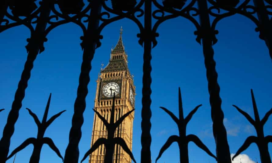 The Big Ben Clock Tower is seen through a gate, in central London. REUTERS/Stefan Wermuth