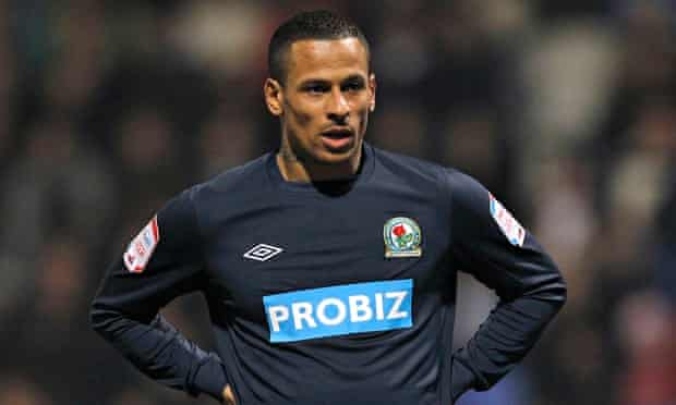 DJ Campbell was playing for Blackburn when he was arrested