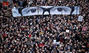 Je suis Charlie march in Paris