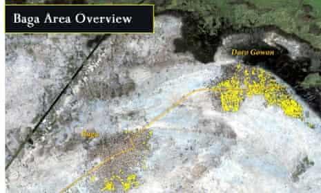 baga boko haram nigeria satellite