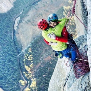Kevin Jorgeson and Tommy Caldwell