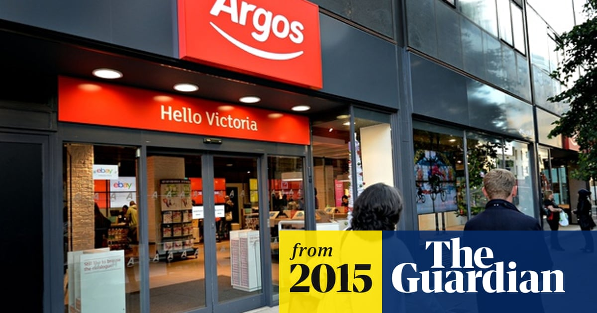 Argos Owner Sees Distorting Effect Of Black Friday On Sales Home Retail The Guardian