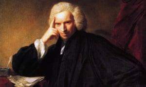 Laurence Sterne by Sir Joshua Reynolds.