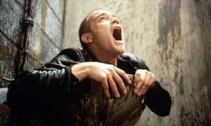 Ewan McGregor in Trainspotting, 1996.