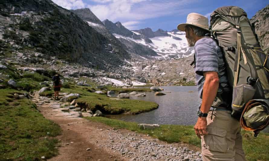 John Muir Trail Yosemite National Park, California.