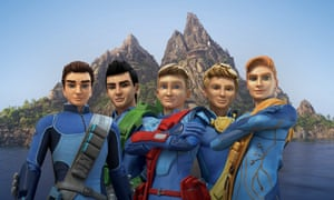 The new-look Tracy brothers in Thunderbirds are Go!