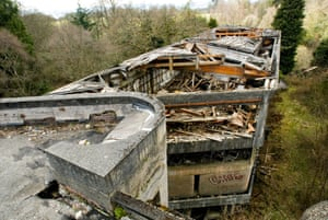 Roof of St. Peter's Seminary, Cardross.
