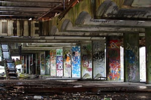 The abandoned site of St Peters Seminary.