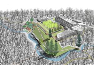 Architect's visualisation of the seminary.