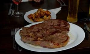 Goliath steak
