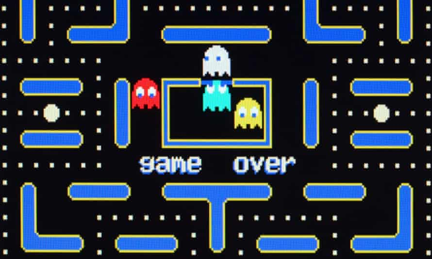 It eats time … Pac-Man in 1983.