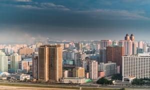 Pyongyang's skyline