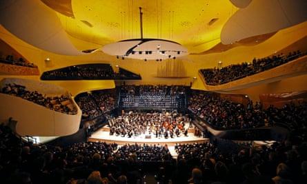 Intergalactic womb … the main auditorium has been praised for it's brilliant acoustic.
