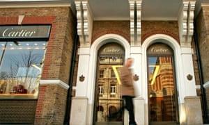 Cartier store in London