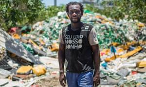'Since the dump closed, we are in a whole new world' ... Zumbi da Silva. Photograph: Lianne Milton
