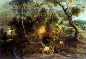 Rubens' The Carters (c1629).