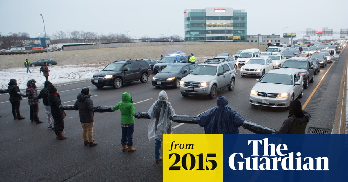 Boston Protesters United Against Racism Shut Down Highway During Rush Hour Us News The Guardian