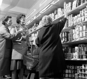 1960s supermarket