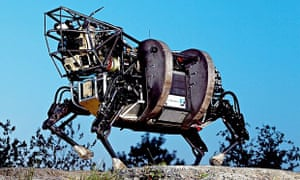 Google's string of acquisitions, including robot maker Boston Dynamics, demonstrate its desire to fi
