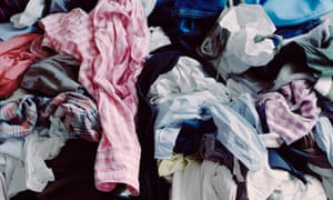 pile of rumpled clothes