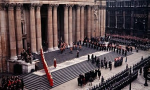 State Funeral of Sir Winston Churchill - St Paul's Cathedral, London