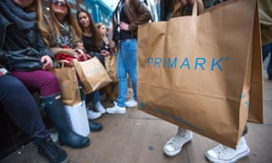 Primark reported strong sales heavy discounting on Black Friday.