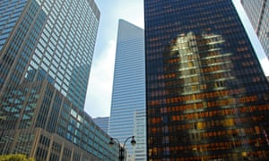 The Seagram Building on New York's Park Avenue.