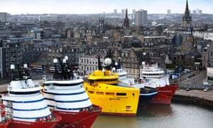 Oil company BP is to cut 200 jobs and 100 contractor roles, much of the based in Aberdeen, pictured.