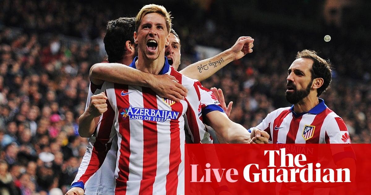 Real Madrid v Atlético Madrid: Copa del Rey - as it ...