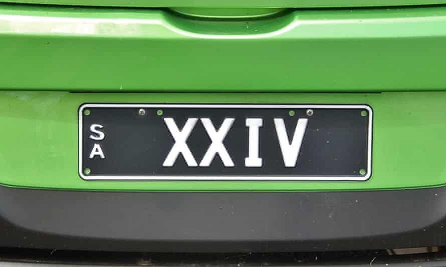 Some Roman numerals in action.
