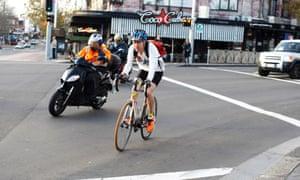 cyclist sydney