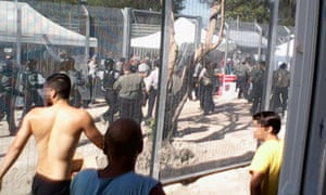 Manus Island fight
