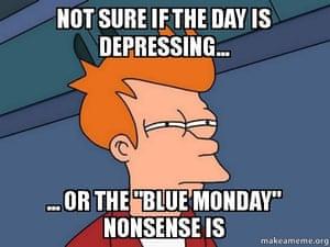 Fry Blue Monday