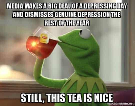 Kermit Blue Monday.