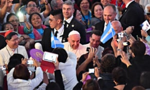 Pope Francis in Manila, Philippines