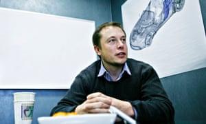 Elon Musk, inventor, engineer, investor and chairman of Tesla Motors.