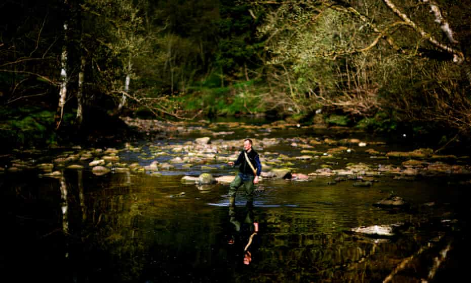 Andy Pietrasik fishing in Cumbria.