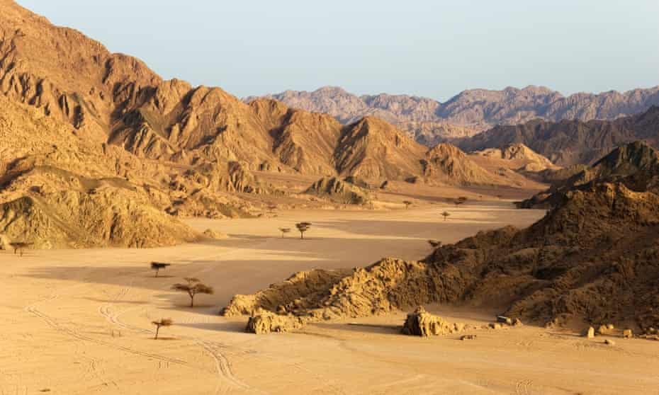 The Sinai is the perfect place for a 'silent adventure'.