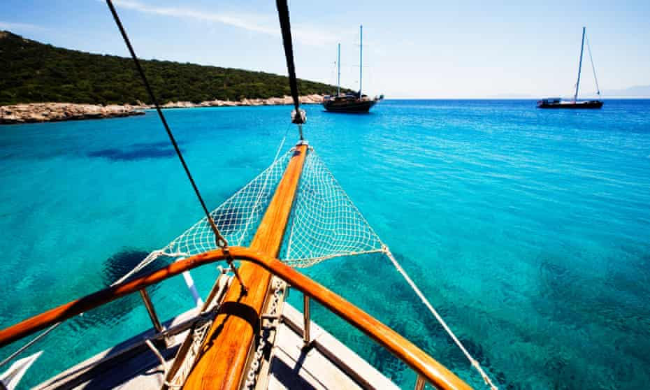 Gulet cruises around the Turkish coast include sunrise meditations and yoga – though the scenery alone is relaxing enough.