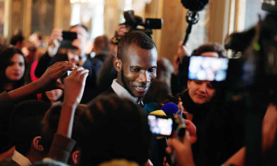 Lassana Bathily said he was honoured to be invited to the event.