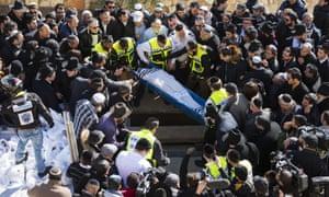 Funeral Philippe Braham Jerusalem