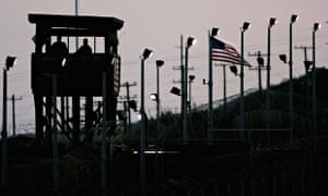 Slahi's diary opens up the secret world of Guantánamo. Photograph: Mark Wilson/Getty Images